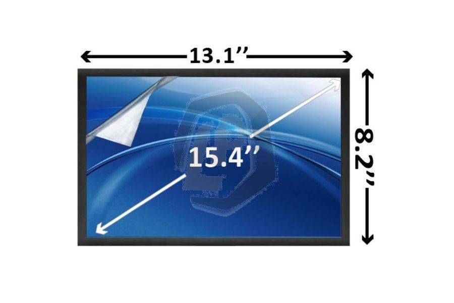 Laptop scherm AUOS04 1280x800 WXGA Mat voor Acer Aspire 8730 serie en andere modellen