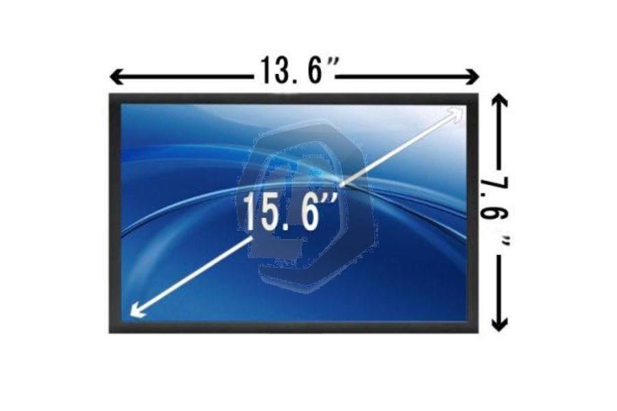 Laptop scherm AUOS08 1366x768 WXGAHD Glans voor Sony Vaio PCG-GRS serie en andere modellen
