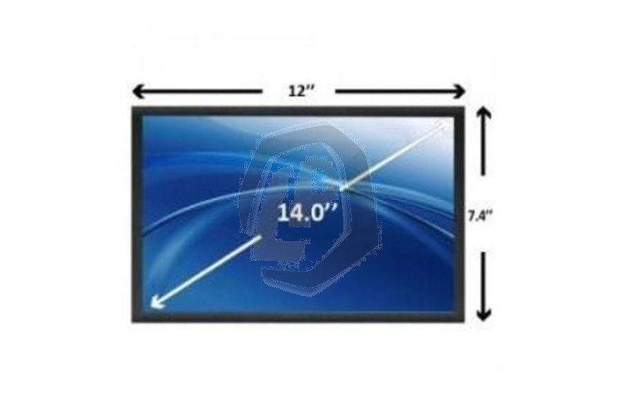 Laptop scherm AUOS148 1366x768 WXGAHD Glans voor Acer Aspire Timeline 4810 serie en andere modellen
