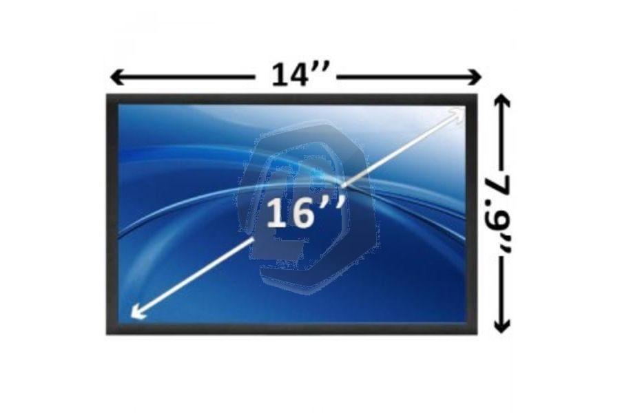 Laptop scherm 16 inch 1366x768 WXGAHD Glans voor Msi CR600 en andere modellen