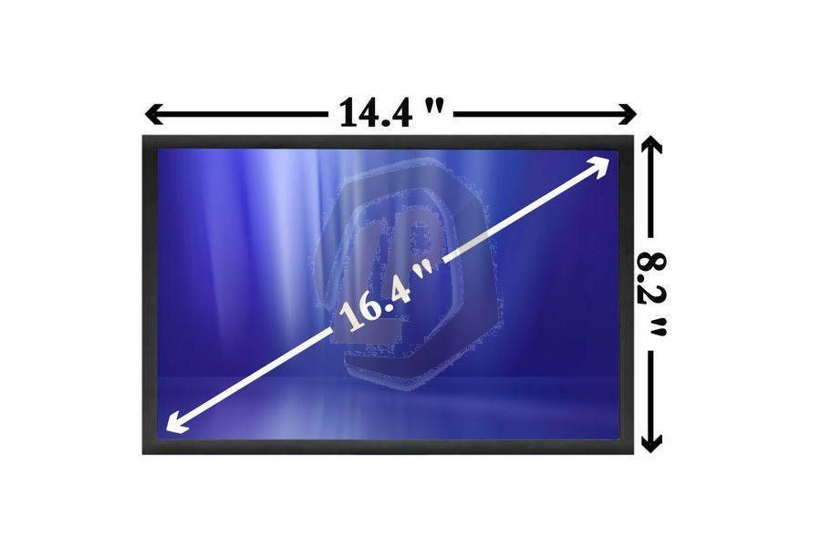 Laptop scherm AUOS163 16,4 inch 1600x900 WXGA++ Glans (2-Bulb) voor Sony Vaio VGN-FW serie en andere modellen