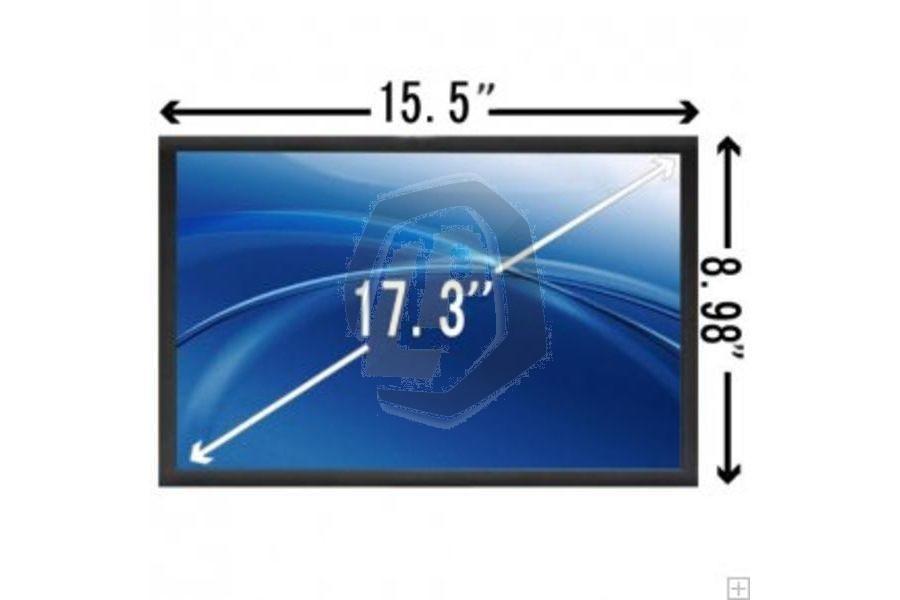 Laptop scherm 17.3inch 1600x900 WXGA++ Mat breed voor Acer Aspire E1-732 series en andere modellen