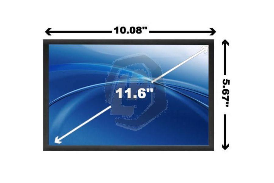 Laptop scherm AUOS41 voor Acer Aspire Timeline 1810T en andere modellen