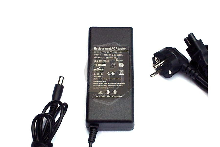 Laptop adapter CMPA19 voor Compaq Business Notebook 6515B en andere modellen
