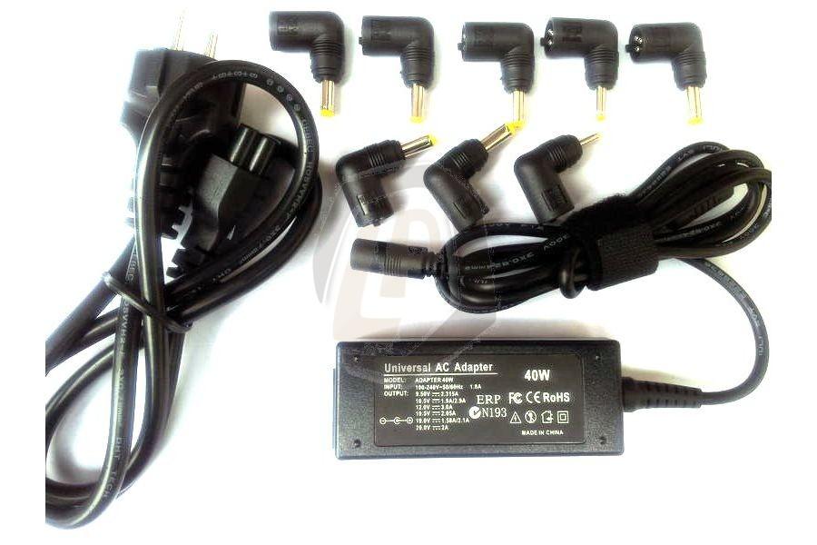 Laptop adapter universeel CMPA36 voor Acer Aspire One 521 serie en andere modellen