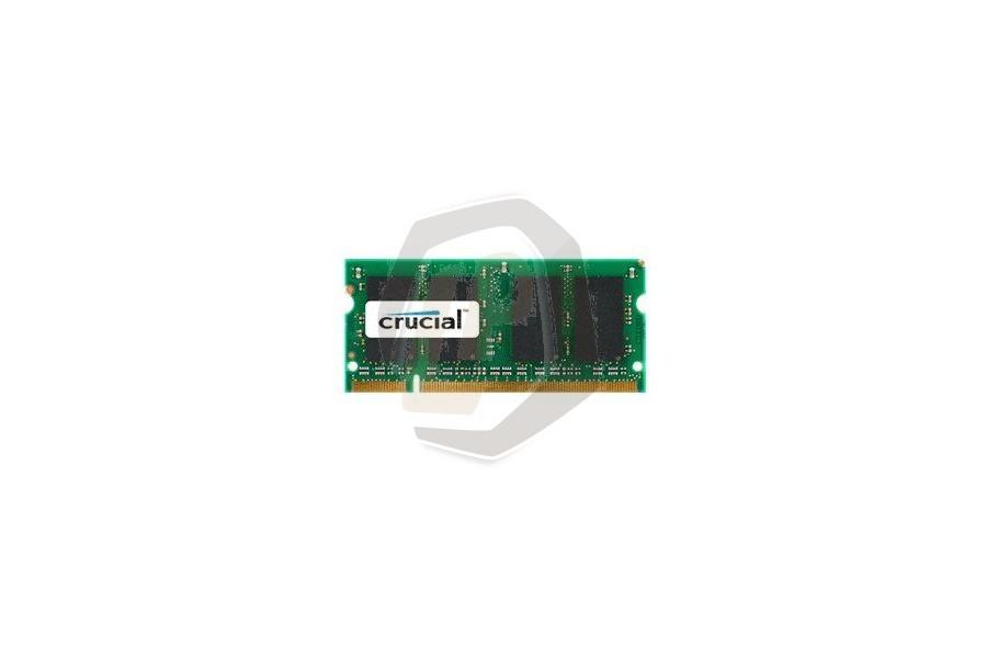 Laptop geheugen CRUG08 2 GB 800 MHz SODIMM PC2-6400 voor Acer Aspire 8930 serie en andere modellen