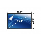 Laptop scherm AUOS121 1280x800 WXGA Mat voor Dell Vostro 1500